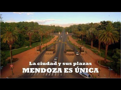Mendoza es única. La ciudad y sus plazas ||| Mendoza Argentina #4