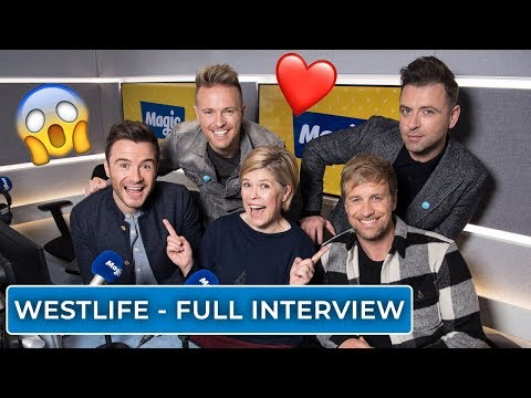 Emma B chats to Westlife