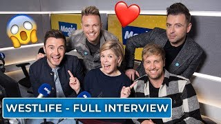 Emma B chats to Westlife | Full Interview