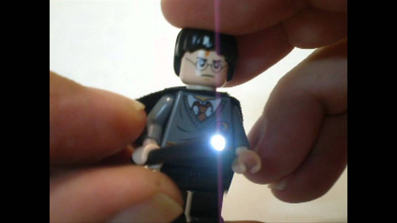 New Lego Harry Potter Quot Custom Light Up Wand Quot By