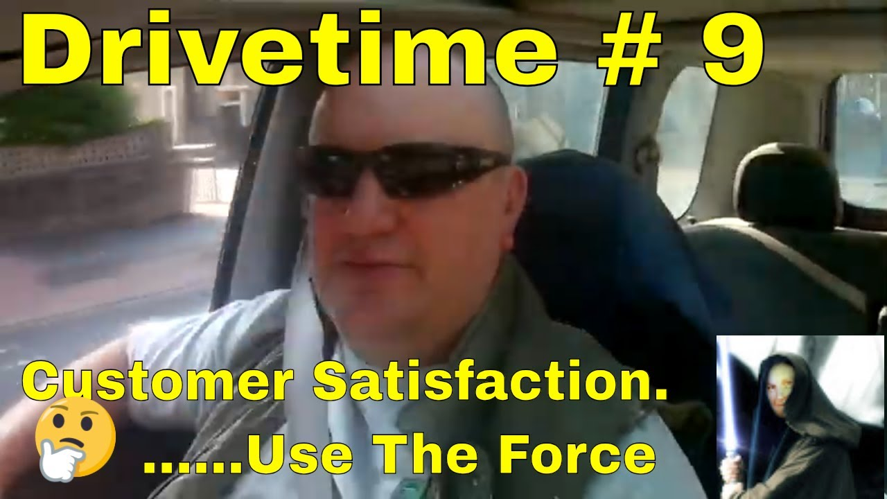 Drivetime # 9. A Jedi  Tilers  Guide to life