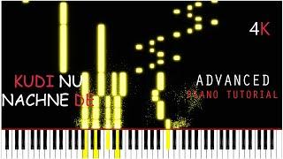 Kudi Nu Nachne De - Piano Tutorial | Angrezi Medium | Vishal Dadlani | Sachin-Jigar