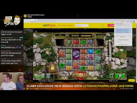 Part 1 Live Casino Games Justspin New Casino Feature To Win 24 10 19 Youtube
