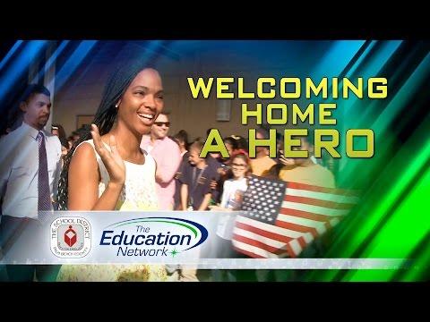 Welcoming Home A Hero