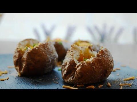 How to Make The Perfect Baked Potato | Vegetarian Recipes | Allrecipes.com