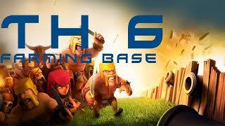 Clash of Clans - TH6 Farming Base (Anti Giant Healer/Anti Air Base)