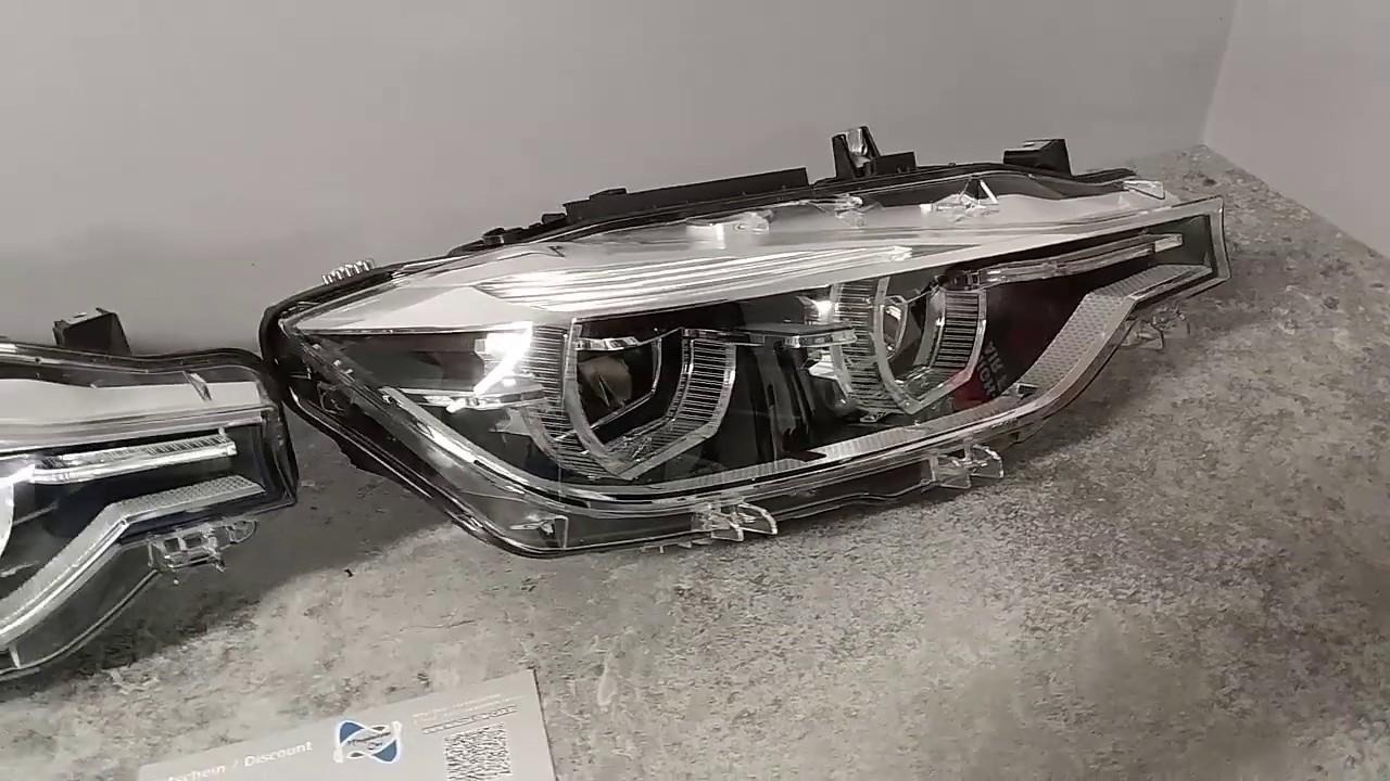 Bmw 3 F30 F31 Adaptive Led Headlights Scheinwerfer Reflektory Module