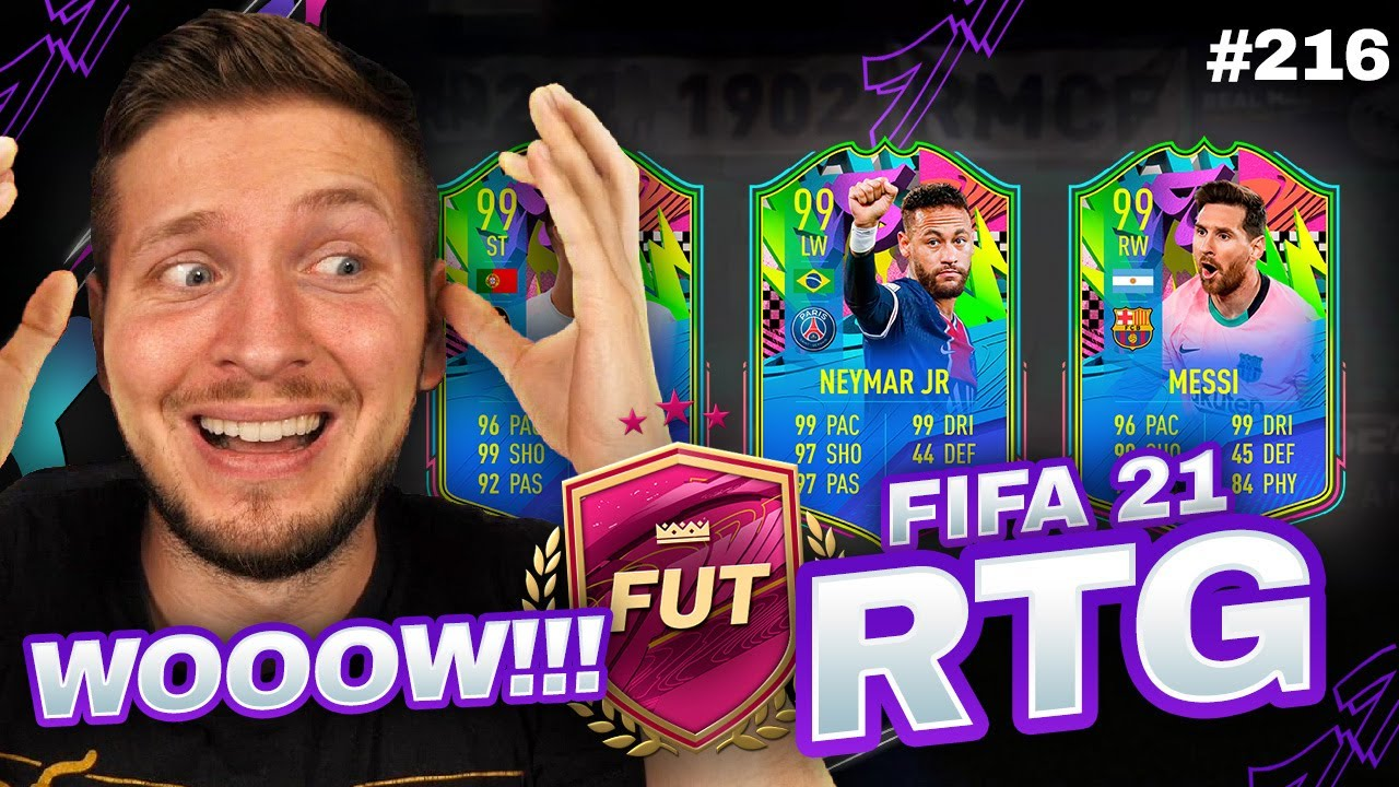 I DID 3 FUTTIES UPGRADES ON MY RTG AND WOW... FIFA 21 ULTIMATE TEAM
