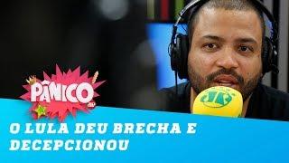 """""""O Lula deu brecha e decepcionou quem votou nele"""", diz Projota"""