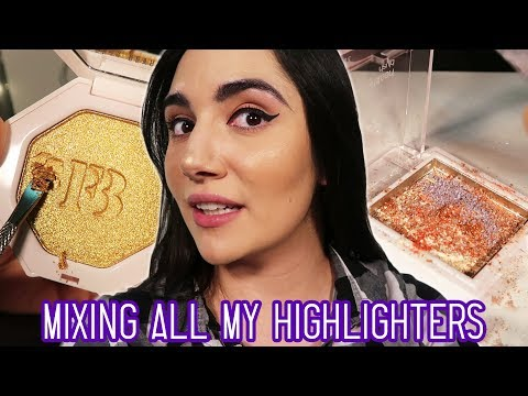 Mixing All My Highlighters Together
