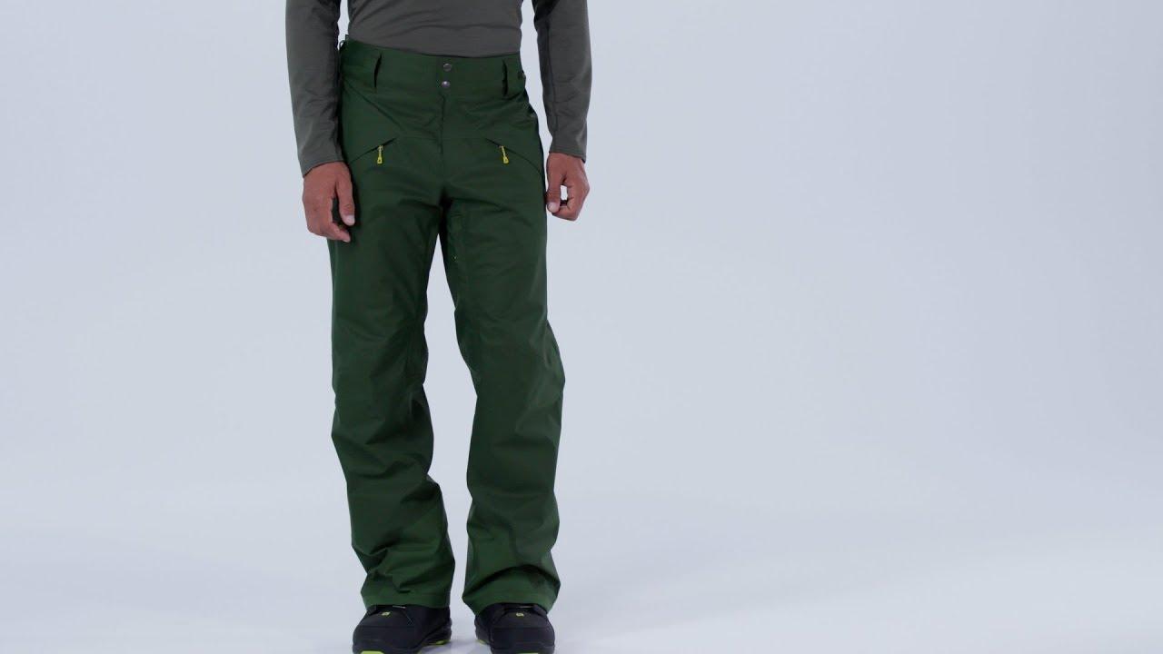 Patagonia Men's Snowshot Ski Pants Green