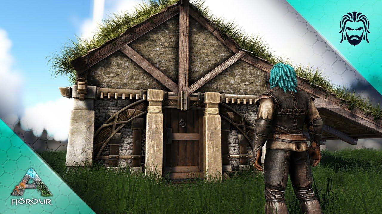 Building my First Viking Settlement! - ARK Fjördur [E2]