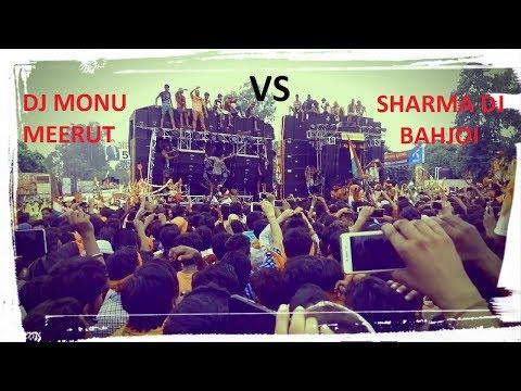 Sharma DJ Bahjoi Vs DJ Monu Meerut Competition- Moradabad Delhi Road