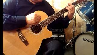Видеоурок на гитаре Afric Simone Hafanana
