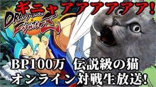 【DBFZ】BP1000000 伝説の猫のオンライン対戦生放送!【ドラゴンボールファイターズ Dragon Ball FighterZ】