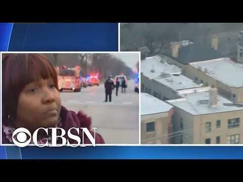 Woman describes scene of Chicago hospital shooting