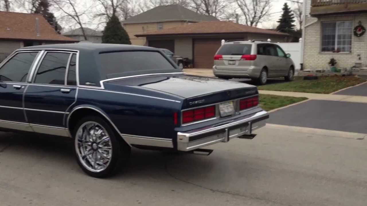 box chevy caprice for sale