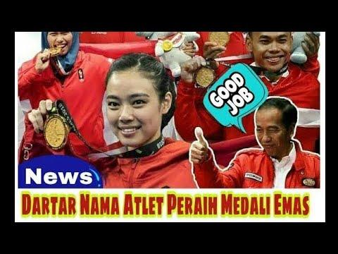 Daftar  31 Nama Atlet Indonesia Peraih Medali Emas Di Asian Games 2018