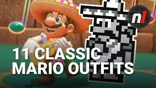 11 Super Mario Odyssey Costumes Actually from Older Mario Games
