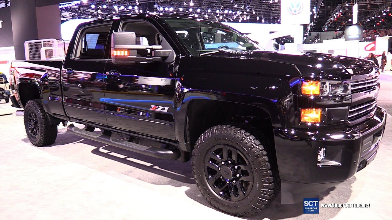2016 Chevrolet Silverado Z71 - Exterior and Interior ...