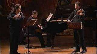 Play Trio Sonata For Flute, Violin & Continuo In G Major (By C.p.e. Bach, After Jsb), Bwv 1038