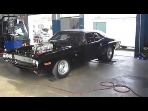 1600hp Blown 69 Dodge Charger On Dyno Youtube