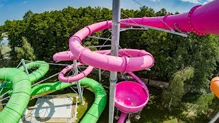 Insane UFO Waterslide - Space Bowl ...