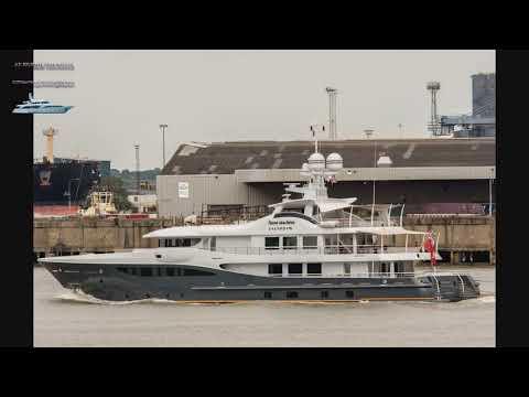 GENE MACHINE - Yacht - Cayman Islands  (Корабли и суда мира.Слайдшоу)