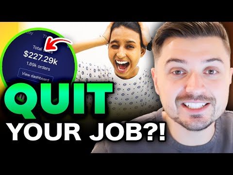 How To QUIT YOUR JOB & Do Dropshipping Full-Time! Ecommerce Dropshipping 2020 thumbnail