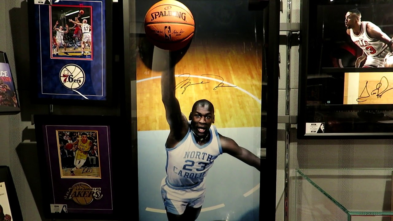 reputable site 358ac 8b7fc Michael Jordan memorabilia, autographs, signed jerseys and pictures