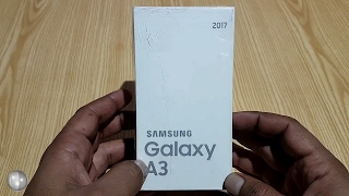Samsung Galaxy A3 2017 Black Unboxing Hands On [Urdu /Hindi]