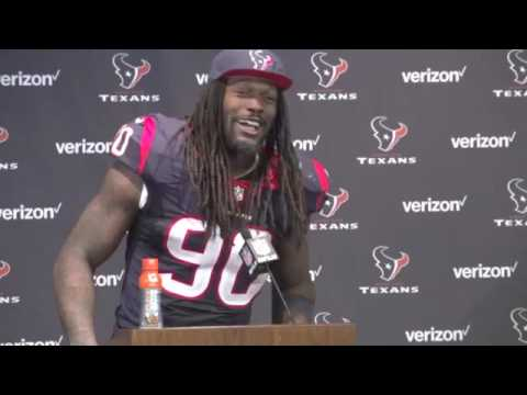 Jadeveon Clowney BEING FUNNY WITH THE MEDIA ! 😂