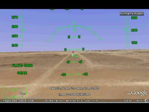 Landing F16 at King Fahd International Airport