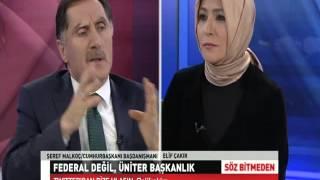 Söz Bitmeden - Şeref Malkoç - 25 Ocak 2016