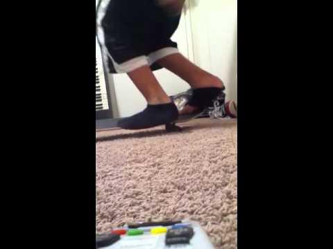No shoes switch kick