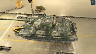 World Of Tanks Blitz Game Play (IS-5 Obj.730)