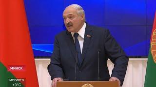 Лукашенко: Беларусь в ящик с крестом наверху уложить? Ни за что! / Политика