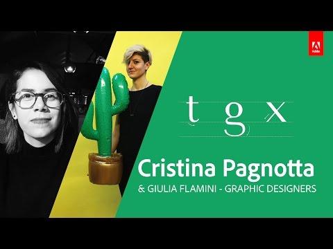 Live Poster Creation with Cristina Pagnotta & Giulia Flamini - Adobe Live