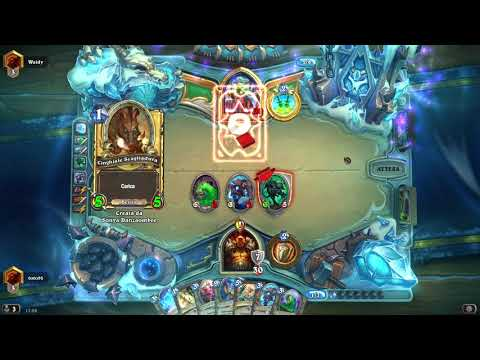 BAKU QUEST WARRIOR | UN DECK SOLIDISSIMO | The Witchwood | Hearthstone