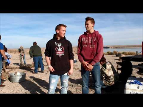 A short interview with Rock Springs High School students helping with fish pop surveys