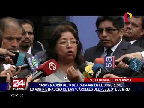 Pdte. del Congreso reacciona sobre caso de exasistente terrorista de congresista Foronda