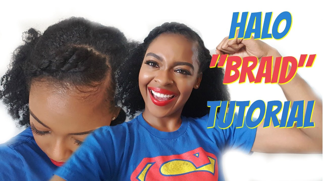 Twist Crown Hair Tutorial Natural Hairstyles For Black