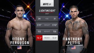 Тони Фергюсон vs Энтони Петтис: Вспоминаем бой