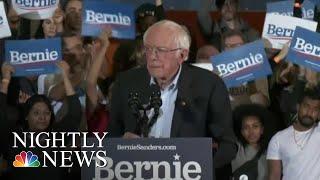 Sanders, Yang & Biden Pass Their Fundraising Records As Trump Raises $46 Million   NBC Nightly News