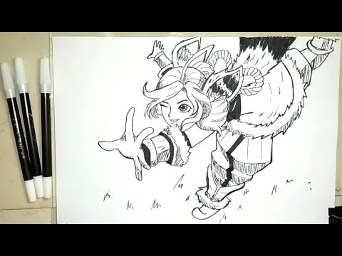 Cara Menggambar Nana Hero Mobile Legends How To Draw Nana Youtube