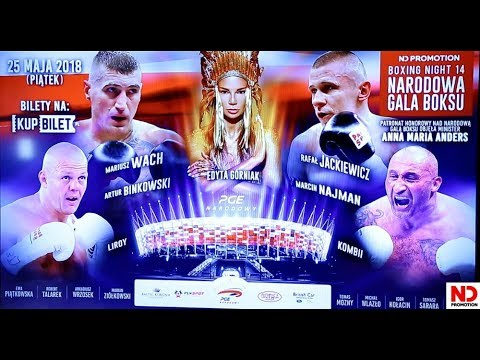 THE BEST OF! Konferencja przed Narodową Galą Boksu Boxing Night 14