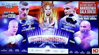 THE BEST OF! Konferencja przed Narodową Galą Boksu Boxing Night 14