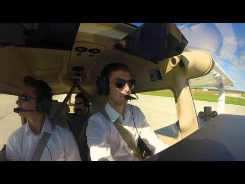 Skyhawk Airlines | Full Flight | Columbus to Bloomington (Indiana)