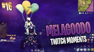 SI PUO' VOLARE ALL'INFINITO SU FORTNITE? | Melagoodo Twitch Moments [ITA] #16