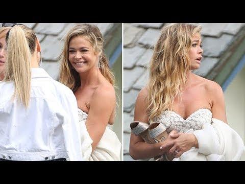 Denise Richards Stuns Malibu With Wedding To Aaron Phypers
